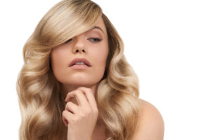 Extensions Pflege Blond